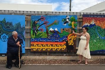 Papatūānuku mural unveiled